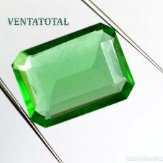 Coleccionismo de gemas: TOPACIO VERDE - DE 33,10 KILATES MEDIDA 2,6 X 2,0 CENTIMETROS - Nº5. Lote 115039811