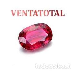 Coleccionismo de gemas: ESPINELA ROJA - DE 5,25 KILATES -MIDE 1,0 X 0,8 CENTIMETROS- CON CERTIFICADO IGL - Nº5. Lote 115044111