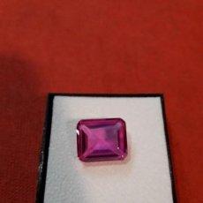 Coleccionismo de gemas: RUBÍ SINTÉTICO DE 12 KILATES. Lote 115726563