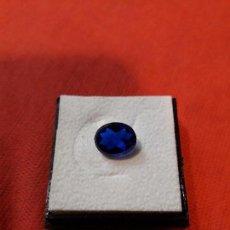 Coleccionismo de gemas: ZAFIRO SINTETICO DE 2.5 KILATES.. Lote 116504499