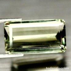 Coleccionismo de gemas: AMATISTA VERDE (PRASIOLITA) 22,0 X 12,5 MM. Lote 117455111