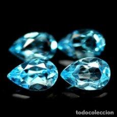 Coleccionismo de gemas: TOPACIO AZUL SUIZO 8,0 X 5,0 MM.. Lote 186278140