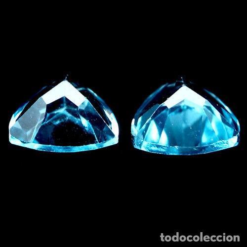 Coleccionismo de gemas: TOPACIO Azul Suizo 8,0 x 8,0 mm. - Foto 2 - 264085700