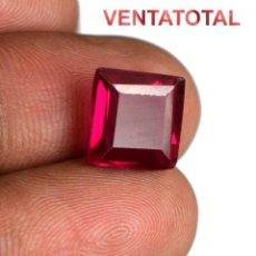 Coleccionismo de gemas: RUBI DE 5,80 KILATES CERTIFICADO IGL MEDIDA 10X10X4 MILIMETROS = 1X1 CENTI-N10. Lote 118040111
