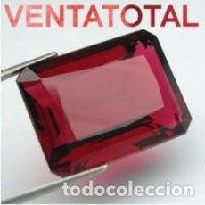 Coleccionismo de gemas: RUBI DE 3,95 KILATES CERTIFICADO IGL MEDIDA 10X7X3 MILIMETROS = 1X0,7 CENTI-Nº8. Lote 118040559