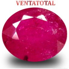 Coleccionismo de gemas: BERILO ROJO DE 5,40 KILATES CON CERTIFICADO IGL MEDIDA 12X10X5 MILIMETROS = 1,2X1 CENTI-Nº5. Lote 118113287