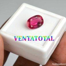 Coleccionismo de gemas: ZAFIRO ROSA DE 6,80 KILATES CON CERTIFICADO IGL MEDIDA 12X8X5 MILIMETROS = 1,2X0,8 CENTI-Nº10. Lote 118115187