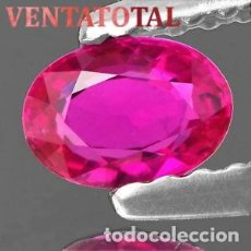 Coleccionismo de gemas: ZAFIRO ROSA DE 8,75 KILATES CON CERTIFICADO IGL MEDIDA 13X10X6 MILIMETROS = 1,1X1 CENTI-Nº9. Lote 118115371