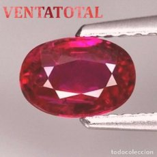 Coleccionismo de gemas: ZAFIRO ROSA DE 7,60 KILATES CON CERTIFICADO IGL MEDIDA 11X8X8 MILIMETROS = 1,1X0,8 CENTI-Nº11. Lote 118115451