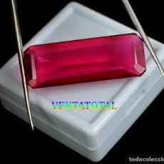 Coleccionismo de gemas: TOPACIO ROSA DE 48,10 KILATES CON CERTIFICADO IGL MEDIDA 36X13X9 MILIM = 3,6X1,3 CENTI-N4. Lote 118116071