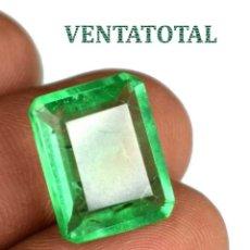 Coleccionismo de gemas: ESMERALDA DE 7,75 KILATES CON CERTIFICADO IGL MEDIDA 15X12X5 MILIM = 1,5X1,2 CENTI-Nº77. Lote 118116331