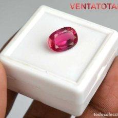 Coleccionismo de gemas: ESPINELA ROJA DE 7,80 KILATES + CERTIFICADO IGL MEDIDA 13X10X5 MILIM = 1,3X1,0 CENTI-Nº10. Lote 118118343