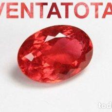 Coleccionismo de gemas: ESPINELA ROJA DE 6,55 KILATES + CERTIFICADO IGL MEDIDA 12X7X6 MILIM = 1,2X0,7 CENTI-Nº11. Lote 118118627