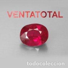 Coleccionismo de gemas: ESPINELA ROJA DE 3,65 KILATES + CERTIFICADO IGL MEDIDA 10X7X4 MILIM = 1,0X0,7 CENTI-Nº9. Lote 118119087
