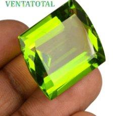 Coleccionismo de gemas: PERIDOT VERDE OLIVA DE 47,05 KILATES + CERTIFICADO IGL MEDIDA 24X21X12 MILIM = 2,4X2,1 CENTI-Nº9. Lote 118119867