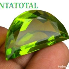 Coleccionismo de gemas: PERIDOT VERDE OLIVA DE 36,65 KILATES + CERTIFICADO IGL MEDIDA 30X17X12 MILIM = 3,0X1,7 CENTI-Nº12. Lote 118121519