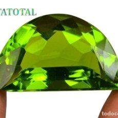 Coleccionismo de gemas: PERIDOT VERDE OLIVA DE 51,15 KILATES + CERTIFICADO IGL MEDIDA 31X19X14 MILIM = 3,1X1,9 CENTI-Nº11. Lote 118121759