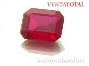 RUBI DE 6,05 KILATES CON CERTIFICADO IGL MEDIDA 11X9X4 MILIM = 1,1X0,9 CENTI-Nº11 (Coleccionismo - Mineralogía - Gemas)