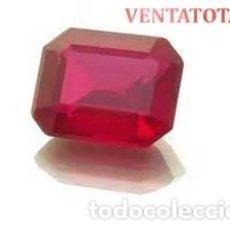 Coleccionismo de gemas: RUBI DE 6,05 KILATES CON CERTIFICADO IGL MEDIDA 11X9X4 MILIM = 1,1X0,9 CENTI-Nº11. Lote 118123543