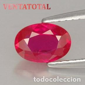 RUBI DE 2,40 KILATES CON CERTIFICADO IGL MEDIDA 9X7X3 MILIM = 0,2X,7 CENTI-Nº14 (Coleccionismo - Mineralogía - Gemas)