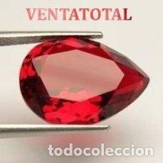 Coleccionismo de gemas: RUBI LAGRIMA ROJA DE 1,85 KILATES CON CERTIFICADO IGL MEDIDA 8X6X4 MILIM = 0,8X0,6 CENTI-Nº17. Lote 118134691