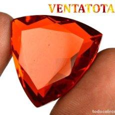 Coleccionismo de gemas: CITRINO TRILLON DE 41,40 KILATES CON CERTIFICADO IGL MEDIDA 27X26X10 MILIM = 2,7X2,6 CENTI-Nº11. Lote 118218935