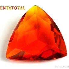 Coleccionismo de gemas: CITRINO TRILLON DE 47,25 KILATES CON CERTIFICADO IGL MEDIDA 29X28X10 MILIM = 2,9X2,8 CENTI-Nº12. Lote 118218955