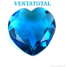 Collectionnisme de gemmes: TOPACIO SWISS BLUE 40,65 KILATES CON CERTIFICADO IGL MEDIDA 27X26X10 MILIME = 2,7X2,6 CENTI-Nº25. Lote 118281135