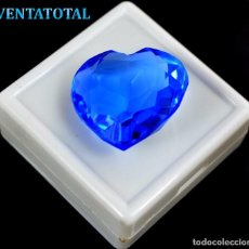 Coleccionismo de gemas: TOPACIO SWISS BLUE 41,45 KILATES CON CERTIFICADO IGL MEDIDA 25X24X11 MILIME = 2,5X2,4 CENTI-Nº27. Lote 118281575
