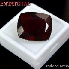 Coleccionismo de gemas: TOPACIO ROJO 52,90 KILATES CON CERTIFICADO IGL MEDIDA 26X22X14 MILIME = 2,6X2,2 CENTI-Nº22. Lote 118314311