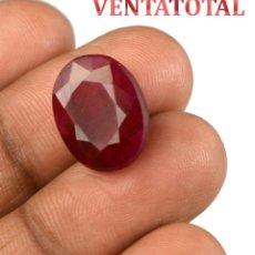 Coleccionismo de gemas: BERILO ROJO 9,45 KILATES CON CERTIFICADO IGL MEDIDA 15X12X7 MILIME = 1,5X1,2 CENTI-Nº9. Lote 118328123