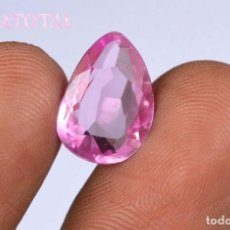 Coleccionismo de gemas: KUNCITE ROSA DE 7,30 KILATES CON CERTIFICADO IGL MEDIDA 14X9X6 MILIME = 1,4X0,9 CENTI-Nº1. Lote 118336399