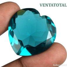 Coleccionismo de gemas: AMATISTA VERDE DE 57,80 KILATES CON CERTIFICADO IGL MEDIDA 29X29X12 MILIME = 2,9X2,9 CENTI-Nº1. Lote 118344807
