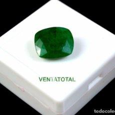 Colecionismo de pedras preciosas: ESMERALDA DE COLOMBIA DE 10,85 KILATES CON CERTIFICADO IGL MEDIDA 15X12X7 MILIM = 1,5X1,2 CENTI-Nº85. Lote 118425515