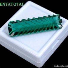 Coleccionismo de gemas: AMATISTA VERDE MUY RARA DE 32,85 KILATES MEDIDA 4,1 X 1,2 CENTIMETROS - Nº11. Lote 118682383