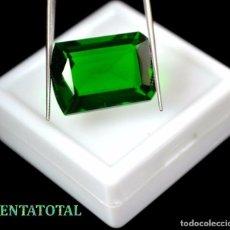 Coleccionismo de gemas: AMATISTA VERDE DE 23,05 KILATES MEDIDA 2,1 X 1,5 CENTIMETROS - Nº10. Lote 118683143