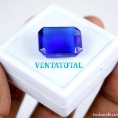 Coleccionismo de gemas: TOPACIO AZUL DE 17,45 KILATES MIDE 1,7 X 1,3 CENTIMETROS - Nº7. Lote 118690379