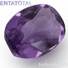 Coleccionismo de gemas: AMATISTA PURPURA DE 12,35 KILATES MEDIDA 1,5 X 1,2 X 0,9 CENTIMETROS - Nº38. Lote 118706027