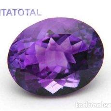 Coleccionismo de gemas: AMATISTA PURPURA DE 3,60 KILATES MEDIDA 1,1 X 0,9 X 0,6 CENTIMETROS - Nº21. Lote 118706907