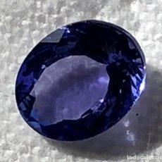 Coleccionismo de gemas: TANZANITA CON INTENSO AZUL VIOLETA - 2.14 CT - IGI CERTIFICADO. Lote 118709495
