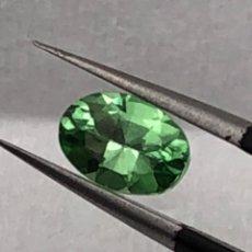 Coleccionismo de gemas: TSAVORITA VERDE - 1.01 CT - CON IGI CERTIFICADO. Lote 118710239