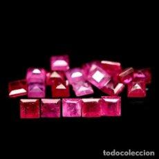 Coleccionismo de gemas: RUBI 3,5 X 3,5 MM.. Lote 221838813