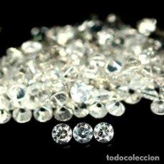 Coleccionismo de gemas: CIRCON NATURAL 1,5 MM. TALLA DIAMANTE. Lote 159146304