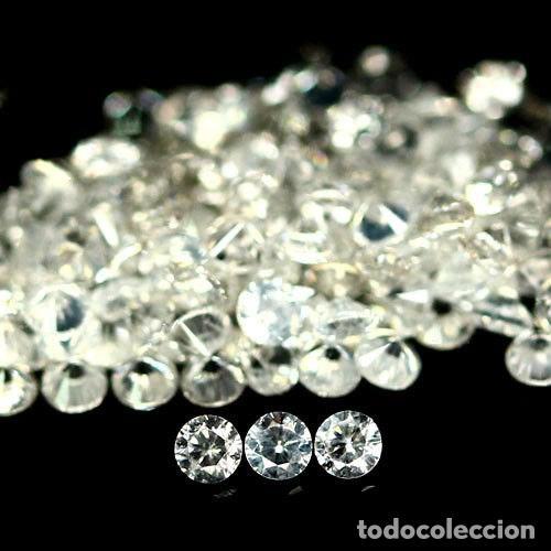 CIRCON NATURAL 2,0 MM. TALLA DIAMANTE (Coleccionismo - Mineralogía - Gemas)