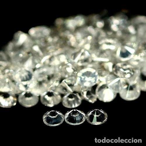 Coleccionismo de gemas: Circon Natural 2,0 mm. talla Diamante - Foto 2 - 119915678
