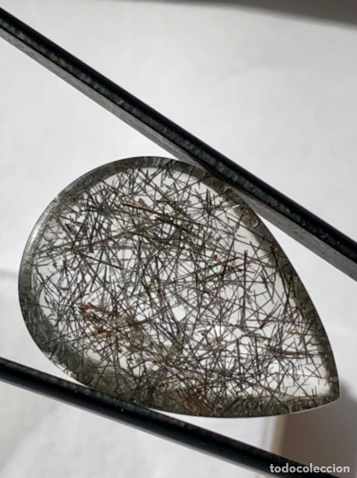 Coleccionismo de gemas: CUARZO RUTILADO-18.24CT -, CON INFORME GEMOLOGICO - Foto 7 - 119342651