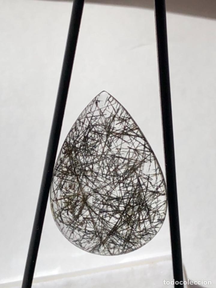 CUARZO RUTILADO-18.24CT -, CON INFORME GEMOLOGICO (Coleccionismo - Mineralogía - Gemas)