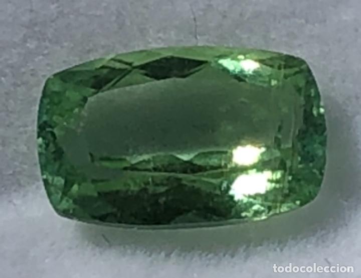 TURMALINA DE PARAIBA, CON GIA CERTIFICADO (Coleccionismo - Mineralogía - Gemas)