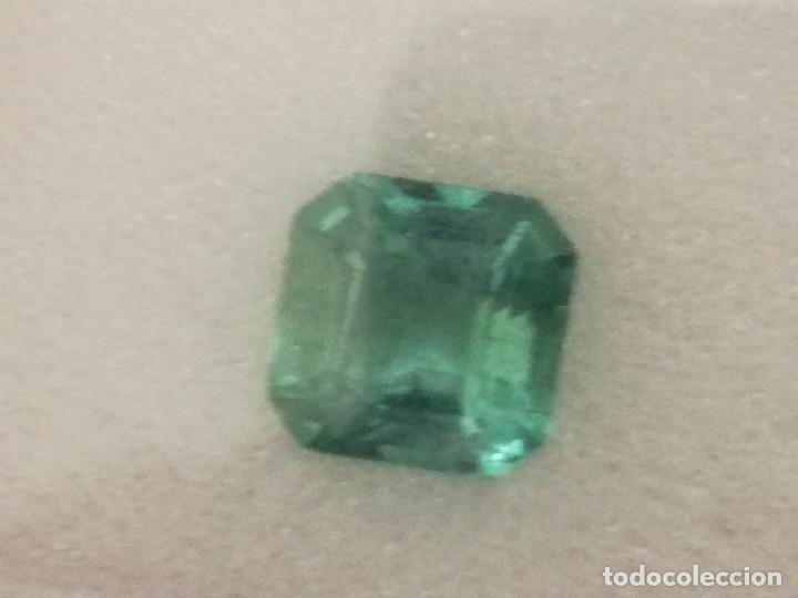 Coleccionismo de gemas: Esmeralda natural certificada 1,03ct - Foto 5 - 158463789
