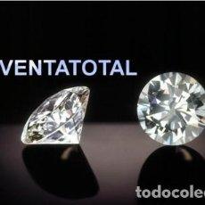 Coleccionismo de gemas: ZAFIRO BLANCO TALLA DIAMANTE DE 1,00 KILATES Y MIDE 6X6X4 MILIMETROS - Nº113. Lote 120702211